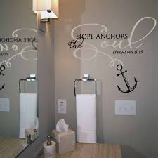 Hope Anchors The Soul Wall Decal Trading Phrases