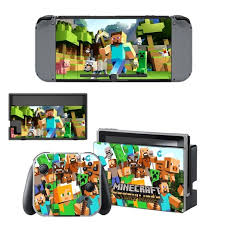 Minecraft Decal Skin Sticker For Nintendo Switch Controllers And Console Consoleskins Co
