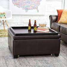 ottoman coffee tables with trays