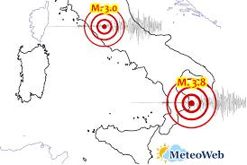 Terremoto, le scosse di oggi in Italia: grande paura a Roma e ...