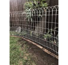 50ft X 4ft Tall Ornamental Woven Wire Old Fashioned Fence
