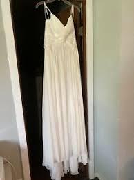davids bridal wedding dress size 4 ebay