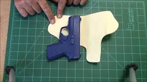 how to make a holster pattern you
