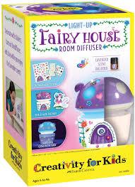 Amazon Com Creativity For Kids Fairy House Scented Night Light Night Lights For Kids Toys Games