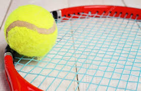 tennis racket and ball sport equipment