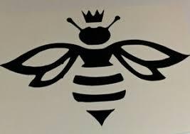 Queen Bee Laptop Car Window Locker And Yeti Decal X2 Ebay