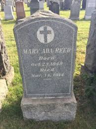 Mary Ada Reed (1849-1914) - Find A Grave Memorial