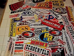 Lot Of Racing Stickers Nascar Nhra Drag Race Car Automotive Decals 415999737