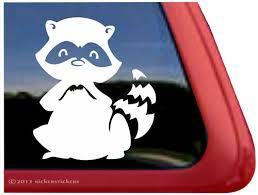 Raccoon Decals Stickers A Nickerstickers