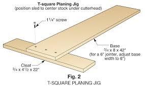 Squaring Up Rough Lumber