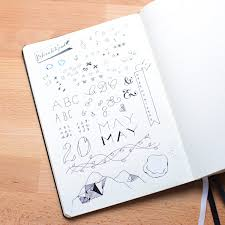 100DaysOfBulletJournalIdeas: 17 - Use a Scratchpad to toy with ...