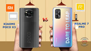 Xiaomi Poco X3 vs Realme 7 Pro - YouTube