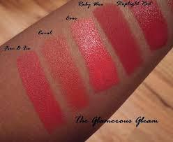 fire ice a red lipstick