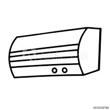 air conditioner cartoon ilration