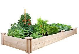 raised garden bed 2 ft x 8 ft x 7 in