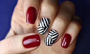 Маникюр красно белый черный – Новый красный! Лучшие дизайны ...Как сделать красный маникюр