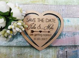 date magnets heart save the date favor