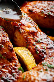 Easy Honey Garlic Salmon - Cafe Delites