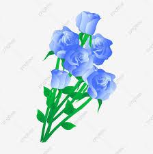 ناقلات الحرة مشبك الزهور الزرقاء زهور زهور زهور Png وملف Psd