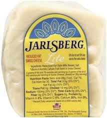 jarlsberg swiss reduced fat lite