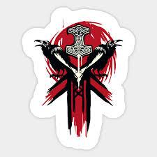 Vikings Logo For Honor For Honor Sticker Teepublic