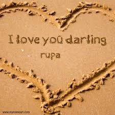 rupa name image of darling name sand