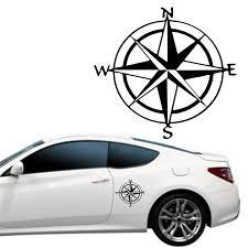 1pc 15cm 15cm Originality Nautical Compass Vinyl Decal Car Boat Window Wall Nautical Sailing Anchor Ship Sticker Car Stickers Aliexpress