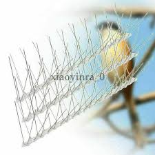 2020 New Home Decor Modern Style Anti Climb Spikes Fence Wall Security Spikes Bird Cat Repellent Prickle Strips Curtain Decorative Accessories Aliexpress