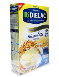 Bột ăn dặm VinaMilk RiDielac Yến mạch sữa hộp 200g