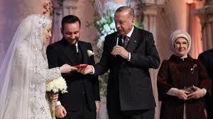Cumhurbaşkanı Erdoğan yeğeninin nikah şahitliğini yaptı - Son ...