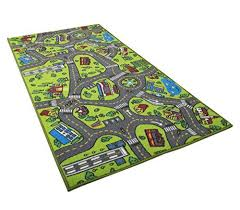 Kids Carpet Playmat Rug City Life Great For Playing With Cars And Toys Play Learn And Have Kids Area Rugs Kids Rugs Play Rug