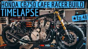 honda cb750 cafe racer build time