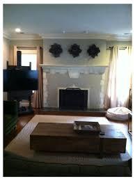 paint a 1920 s stucco tudor fireplace