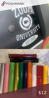 Zoom University Window Decal In 2020 Window Decals All The Colors Decals