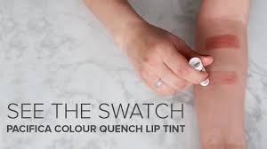 pacifica colour quench lip tint