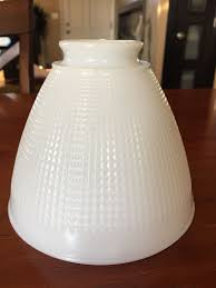 vintage white milk glass 6 floor lamp
