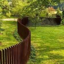 Modern Steel Fence Design Philippines Unique Corten Garden Decor Fencing Panels View Decorative Metal Fence Panels Anhuilong Product Details From Henan Anhuilong Trading Co Ltd On Alibaba Com