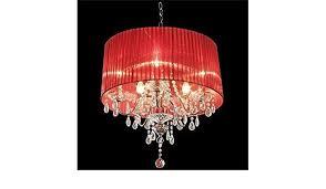 light shade chandelier glass