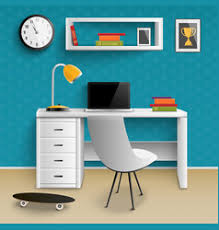 workplace wallpaper vector images over