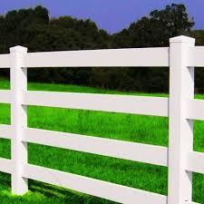 4 Rail Vinyl Horse Fencing 4 Rail Fence Vinyl Horse Fence