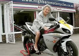 Oldham News | News Headlines | Hilda was born to be wild... 102 ...