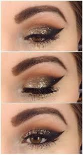 makeup ideas for brown eyes dark skin