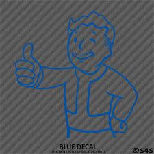 Choose Color Fallout 76 Pipboy Vault Boy Vinyl Decal Sticker V2 Home Garden Decor Decals Stickers Vinyl Art Ayianapatriathlon Com
