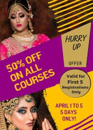 makeup artist course in gurgaon top