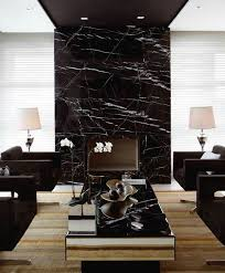 gorgeous accent wall marble