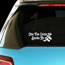 Obx The Outer Banks Nc Decal Sticker Ebay