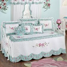 rose garden fl quilted daybed