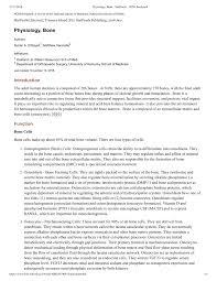 pdf physiology bone