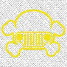 J 04 Jeep Harley Skull American Car Wrangler Dirty 4x4 Vinyl Decal Sticker Home Garden Decor Decals Stickers Vinyl Art
