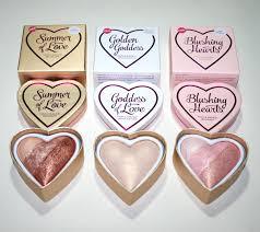 makeup revolution hearts highlighter